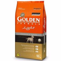 Ração Premier Golden Cães Adultos Light 15kg + Brinde