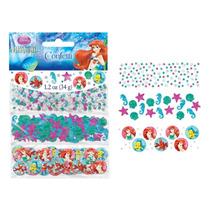 Confetti Importado Princesa Sirenita - Ariel X3