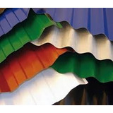Chapa Color Acanalada Para Techos C 25 La Mejor Calidad!!