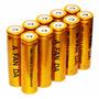 Kit 10 Baterias 18650 8800mah 3.7v Gold Lanterna +carregador