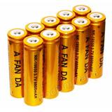 Kit 10 Baterias Gold Lanterna 18650 8800mah 3.7v +carregador