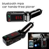 Transmisor Fm Bluetooth Cargador Usb Envio Gratis!!!