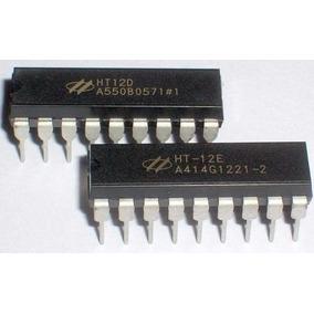 Codificador Encoder Ht12e Y Decodificador Decoder Ht12d