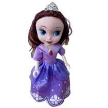 Boneca Princesa Sofia Disney 25cm Acessórios Infantil