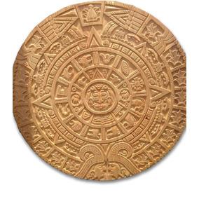 Calendario Azteca- Piedra De Sol. Muebles Unión.