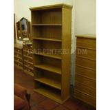 Biblioteca Todo Estantes Roble Varias Medidas/ Carpinteriadm