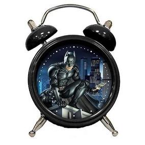 Mini Reloj Despertador Batman Caballero Guason The Joker