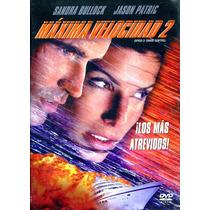 Dvd Maxima Velocidad 2 ( Speed 2 ) 1997 - Jan De Bont