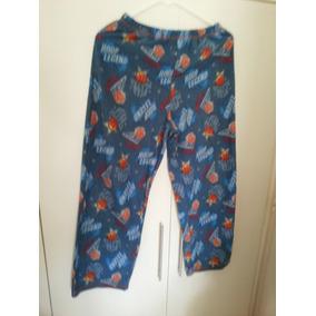 Pantalon Pijamero En Polar Estampado Talle 10-12
