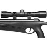 Rifle Aire Comprimido Crosman Raven + Mira Telescópica 4x20