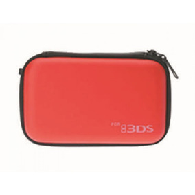 Case Nintendo 3ds Xl Estojo Capa Hard Protetora Vermelho