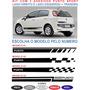 Acessorios Adesivo Lateral E Traseira Fiat Punto Kit