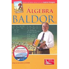 Libro Álgebra De Baldor C/cd Ed Patria