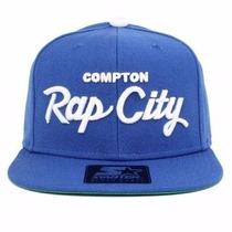 Boné Starter Snapback Rap City Azul Original Exclusivo