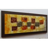 Quadro Abstratos Tela Sala (grande 200x100cm) Sala De Jantar