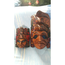 Mascaras De Madera Artasanales