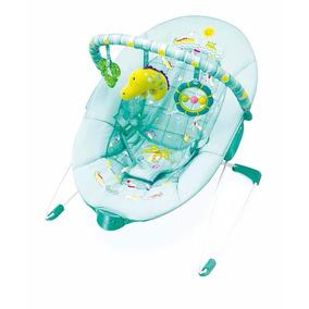 Cadeira Descanso E Vibra Verde Animais 0 -11 Kg