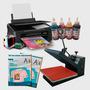 Combo Sublimación Impresora Xp 211 + Plancha 40 X 60 Ideal!!