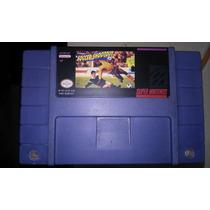 Fita Soccer Shootout Jogo Snes Futebol Super Nintendo