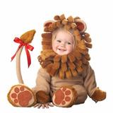 Fantasia Leão P/ Bebe Cosplay Infantil Bichos Parmalat M23