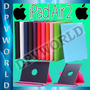 Estuche Ipad Air 2 Apple Giratorio 360° Agenda De Cuero Case