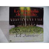 La Rondalla De Saltillo 20 Años De Amor 1987 Lp Semi Nuevo