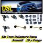 Kit Tren Delantero Renault 18 Fuego Coupe + 2 Homocineticas