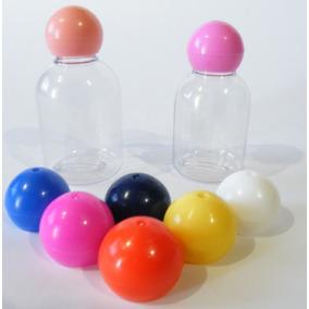 100 Envase Botella Frasco Plastico Hotelera Cosmetica 30ml