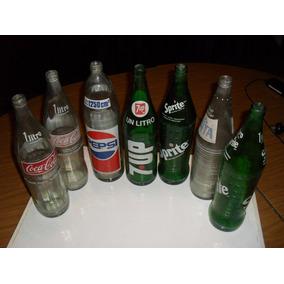 Botellas De Gaseosa De Litro Varias Marcas
