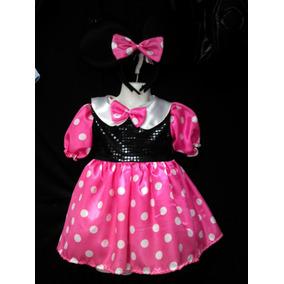 Minie Mouse Vestido Rosa