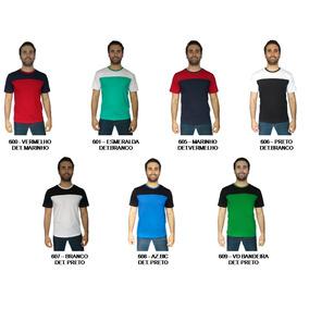 Kit 5 Camiseta Plus Size Extra Careca Camisa Recorte Zambelê