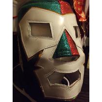 Mascara De Rayo De Dr Wagner Mexicana Tricolor De Gala