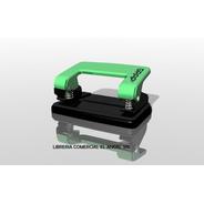 Perforadora Para Papel Grap Metal Resistente Nacional