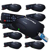 Kit 10 Conversores Digital Tvs Analogica Para Tvs Digitais