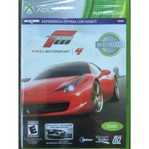 Forza Motorsports 4 Xbox 360 Español Nuevo Sellado Original