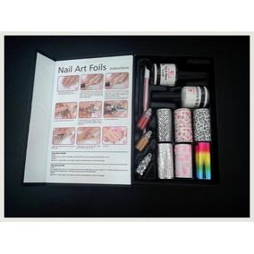 Set Nails Art Decracion De Uñas Accesorios Y Foils