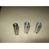 Tensores De Aluminio Cromado Rectos Para Baranda Por Par