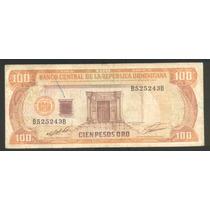 Republica Dominicana, 100 Pesos De Oro 1991 Pick 136 A !