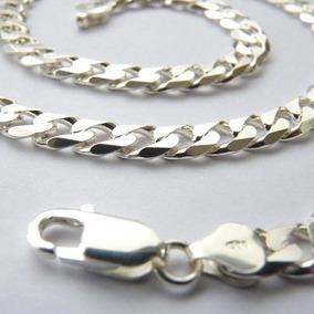Corrente Prata Italiana 925 Diamantada Com 60 Cm 5100