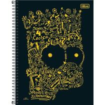 Caderno 10 Matérias Os Simpsons 2017 - C/200 Fls - Tilibra
