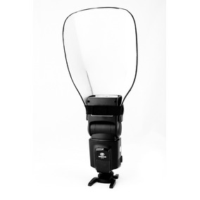 Difusor Rebatedor Universal Para Flash Speedlight
