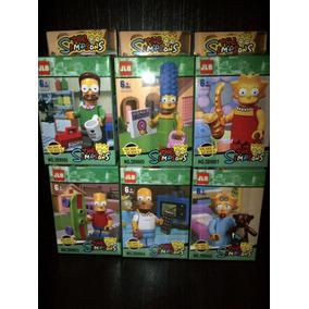 Los Simpson Pack X 6 Personajes Compatibles C/ Lego