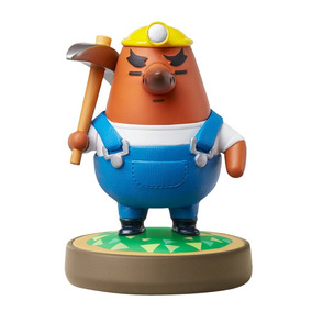 Figura Amiibo Mr. Resetti Animal Crossing Nintendo Wii U