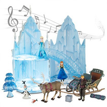 Disney Frozen Elza Musical Castillo De Hielo Disney Store
