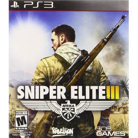 Sniper Elite 3 Para Ps3 Store - No Hago Envios