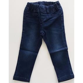 Calça Jeans Bebê Menina Cós Elástico Confortável - Marisol