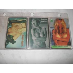 Cartões Telefônico De Pamela Anderson 03 Cartões Importados