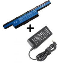 Kit Bateria + Carregador P/ Notebook Acer Aspire 5250 5251
