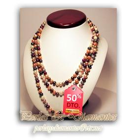 Collar Perlas Cultivadas 160 Cms De Largo