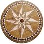 Rosetón Estrella Cerámico - Guardas Mallas Piso, Cocina